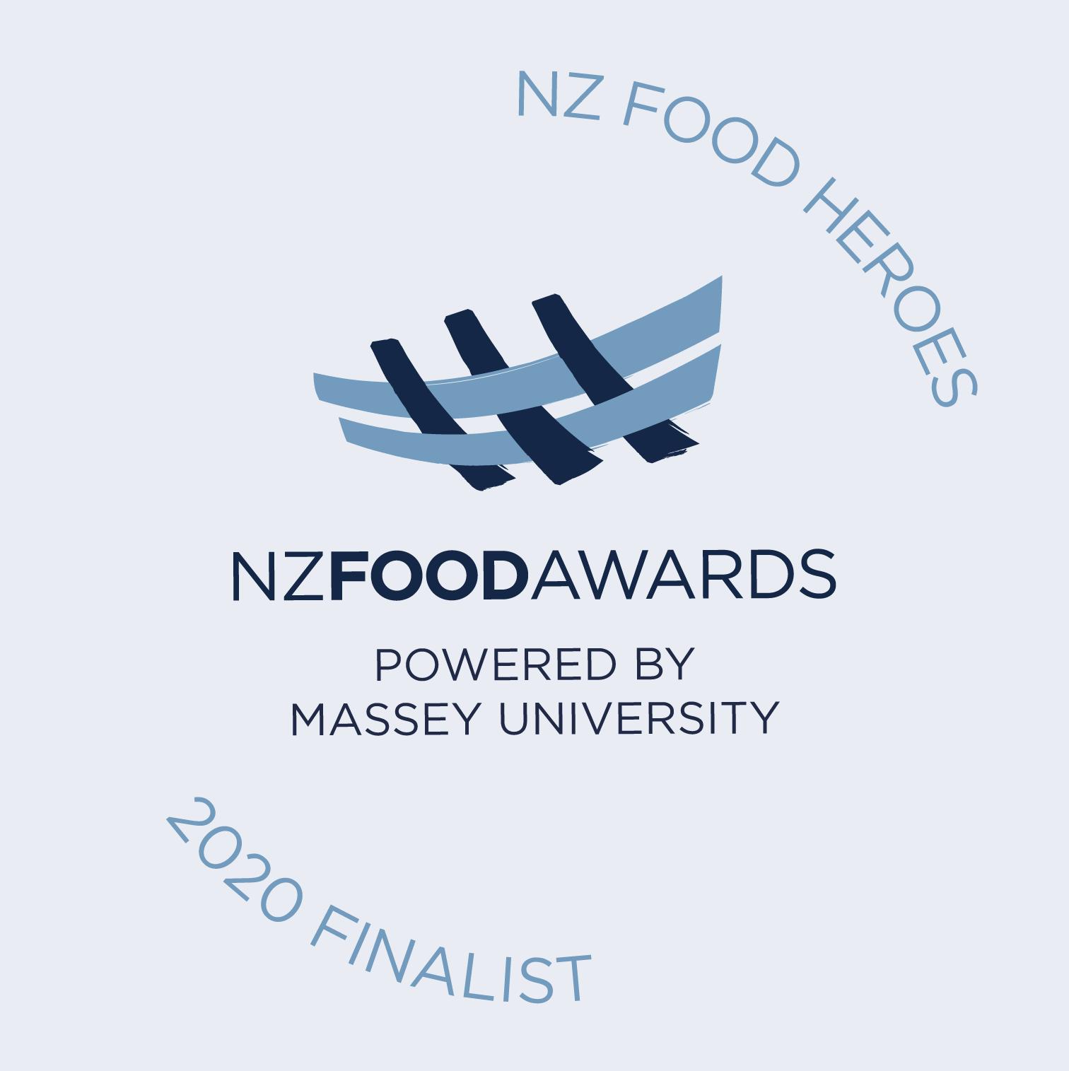 NZ Food Heroes 2020 Finalist